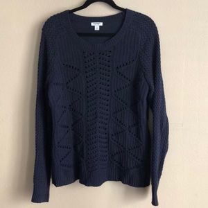 Navy Sweater from Old Navy